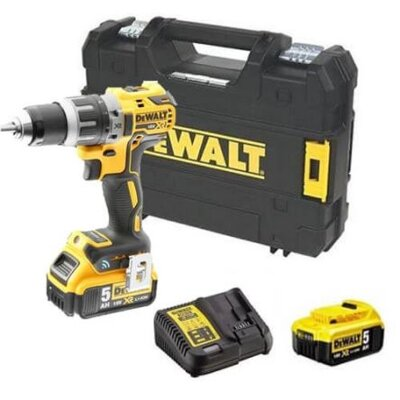 Dewalt DCD792P2B, 70Nm, 2x5Ah, Bluetooth