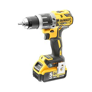 Dewalt DCD797P2B, 70Nm, 2x 2Ah, Bluetooth